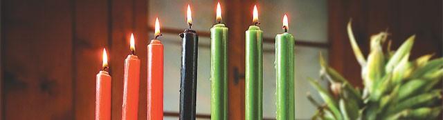 Kwanzaa begins Thursday, December 26.