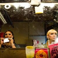 Tilt-a-Whirl Drag Show Kyla Minx and Samantha Vega PHOTO BY MARK CHAMBERLIN