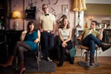 "PHOTO BY JARROD MCCABE - Lake Street Dive is (from left) bassist Bridget Kearney, guitarist-trumpeter Mike ""McDuck"" Olson, singer Rachael Price, and drummer Mike Calabrese."