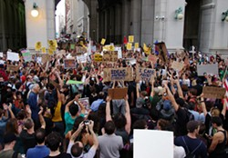 Law enforcement attempted to monitor and suppress the Occupy Wall Street movement (pictured, in 2011). PHOTO BY DAVID SHANKBONE (VIA FLICKR)
