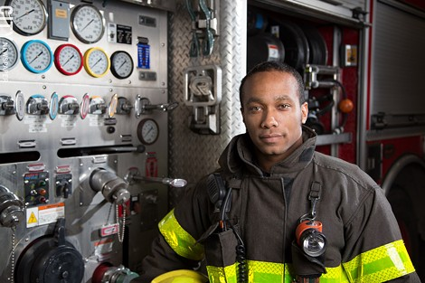 Lawrence Brumfield: fitting in at the RFD wasn't easy. - PHOTO BY MIKE HANLON