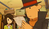 "Layton returns with ""Professor Layton and the Miracle Mask"" for the Nintendo 3DS on October 28."