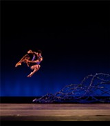 "PHOTO PROVIDED - ""Lighthouse/Lightning Rod,"" the new piece being premiered locally by Garth Fagan Dance, is another collaboration between Fagan and musician Wynton Marsalis."