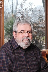PHOTO BY MATT DETURCK - Local author David Cay Johnston, a nationally known expert US tax policies and corporate welfare.