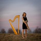 "Local musician/harpist Mikaela Davis has received an enormous response from her YouTube video featuring her performing a song from ""The Legend of Zelda."" PHOTO BY JILL MCCRACKEN"