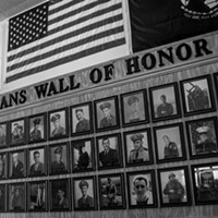 Hilton, NY Located in the Hilton Community Center, the Veterans Wall of Honor holds more than 300 photos of local veterans. The idea for the wall was proposed by Mayor Joe Lee and paid for through donations. PHOTO BY ASHLEIGH DESKINS