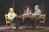 "Lyndsay Ricketson, Catherine Porter, and Bob Gaynor (left to right) in ""Next to Normal."" PHOTO BY GREG MOONEY, COURTESY OF THE ALLIANCE THEATRE, ATLANTA"