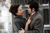 "Maggie Gyllenhaal and Hugh Dancy in ""Hysteria."" PHOTO COURTESY SONY PICTURES CLASSICS"