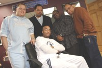 Making music, - reaching out: the Roc Music Group production company. - FRANK DE BLASE