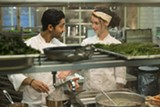 "PHOTO COURTESY TOUCHSTONE PICTURES - Manish Dayal and Charlotte Le Bon in ""The Hundred-Foot Journey."""