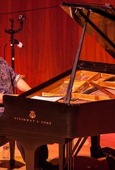 Manuel Valera performed at Hatch Recital Hall.