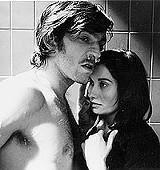Mario (Sergio Castellitto) tries to give Martha (Martina Gedeck) some via abruzzi in Mostly Martha.