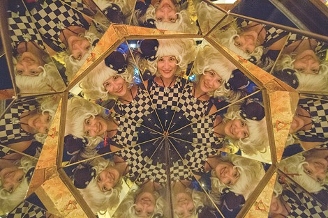 """Matt Elson's """"Infinity Boxes"""" installations, currently on display at Memorial Art Gallery, create kaleidoscopic, optical illusions that include reflections of the viewers. - PHOTO PROVIDED"""