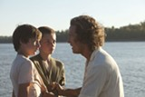 "PHOTO COURTESY LIONSGATE/ROADSIDE ATTRACTIONS - Matthew McConaughey and the child actors of ""Mud."""