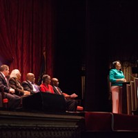 Mayor Lovely Warren's Inauguration Ceremony  PHOTO BY JOHN SCHLIA