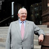 PHOTO BY MATT DETURCK - Mayor Tom Richards: an experienced, progressive pragmatist.