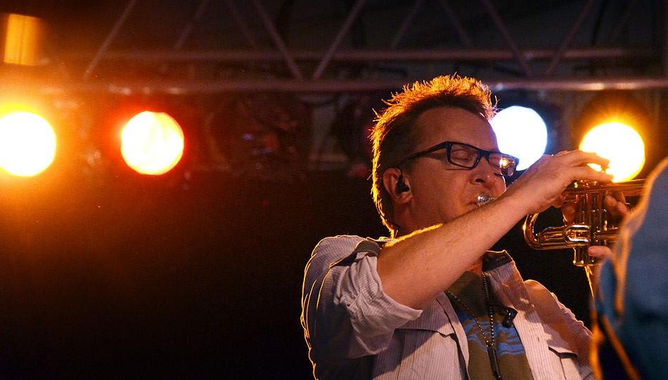 Mingo Fishtrap, at the 2013 Xerox Rochester International Jazz Festival. - PHOTO BY MATT DETURCK
