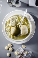 Mish Mosh Soup from Fox's Deli - PHOTO BY MARK CHAMBERLIN