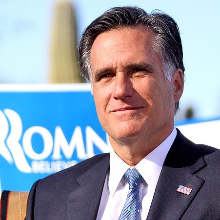 Mitt Romney - PHOTO COURTESY OF GAGE SKIDMORE