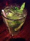 mojito from Tapas 177 at 177 St. Paul Street.