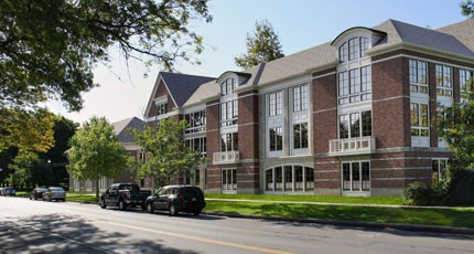 Morgan Management's proposed apartment complex for 933 - University Avenue. - PHOTO BY HANLON ARCHITECTS