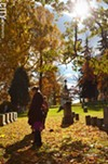 Mount Hope Cemetery is home to a variety of themed walks each fall.