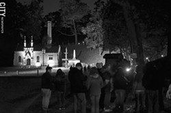 Mount Hope features guided tours throughout the year, including the Torchlight Tours through the cemetery in October. - PHOTO BY MATT DETURCK