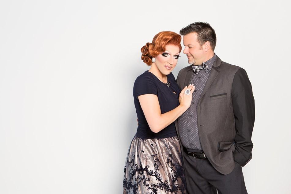 Mrs. Kasha Davis and Mr. Davis. - PHOTO BY TAMMY SWALES