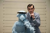 "PHOTO COURTESY WALT DISNEY PICTURES - Sam the Eagle and Ty Burrell in ""Muppets Most Wanted."""