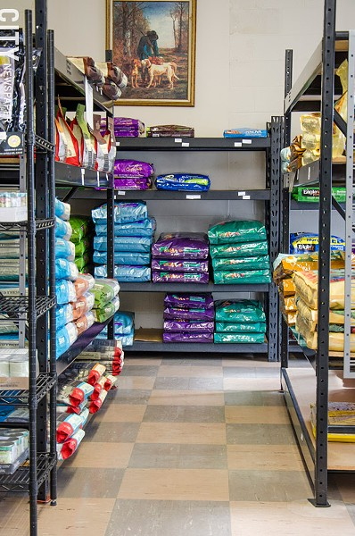 Natural Pet Foods is a local pet store at 766 S. Clinton Ave. - PHOTO BY MARK CHAMBERLIN