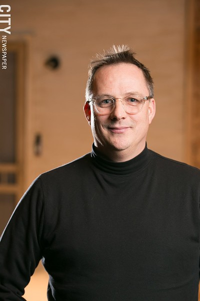 Nigel Maister is the artistic director of the University of Rochester International Theatre Program. - PHOTO BY MIKE HANLON