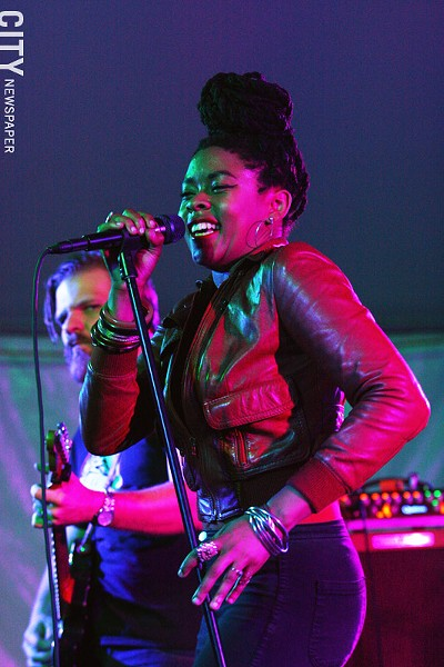 Nikki Hill performed at Abilene. - PHOTO BY FRANK DE BLASE