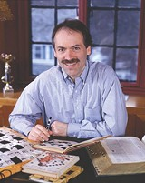Obfuscatory, - but genial about it: Will Shortz.