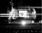 """One - of Frank Menair's untitled still images from his """"Project-O-Train."""""""