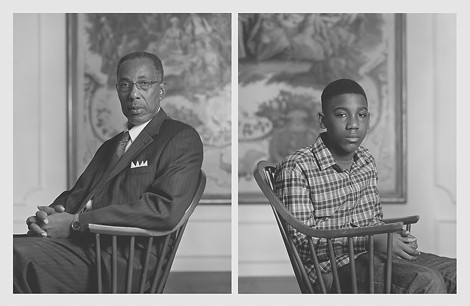 "One of thirteen photographic diptychs from Dawoud Bey's ""The Birmingham Project,"" currently on view at George Eastman House. - PHOTO PROVIDED"