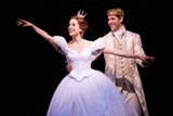 """PHOTO PROVIDED - Paige Faure and Andy Jones appear as Cinderella and Prince Topher in the touring production of Rodgers & Hammerstein's """"Cinderella."""""""