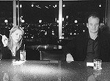 "FOCUS FEATURES - Painting the town red: Scarlett Johansson and Bill Murray in ""Lost in Translation."""