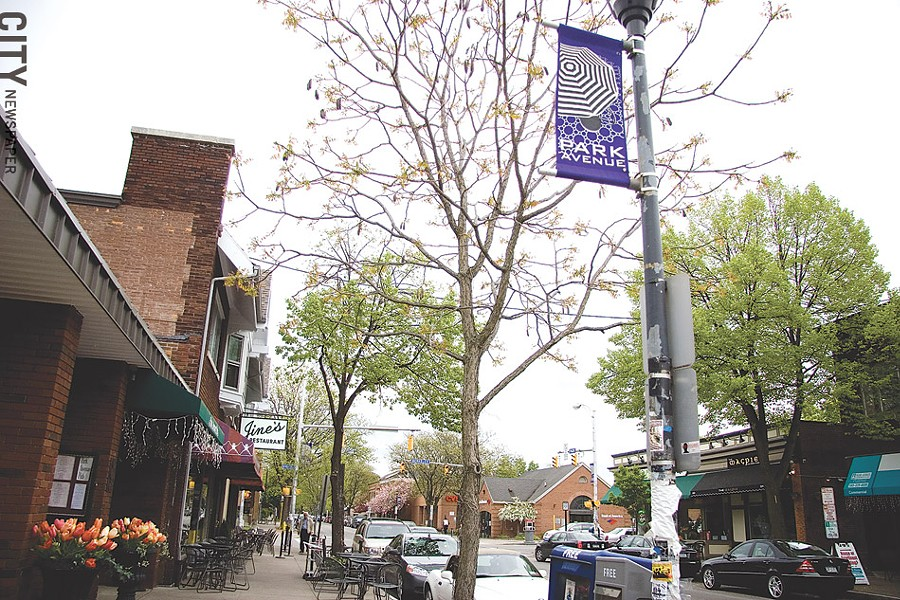 Park Avenue's close shops - encourage walkability through the community. - FILE PHOTO