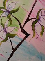 BY BOBBY PADILLA FOR ROC PAINT SIP - Pastel Orchids