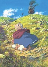 "WALT DISNEY PICTURES - People's feelings and stuff: a still from ""Howl's Moving Castle."""