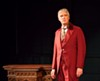 "Peter Doyle performs as Oscar Wilde in the one-man play ""Diversions and Delights"" at MuCCC."