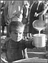 "Photo from the series ""Orphans of the Greek War,"" ca. 1945, David Seymour."