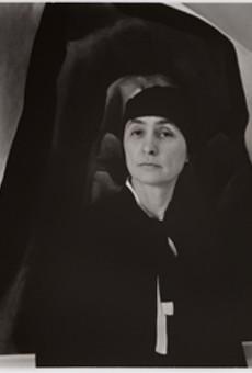 Photo of Georgia O'Keeffe by Alfred Stieglitz