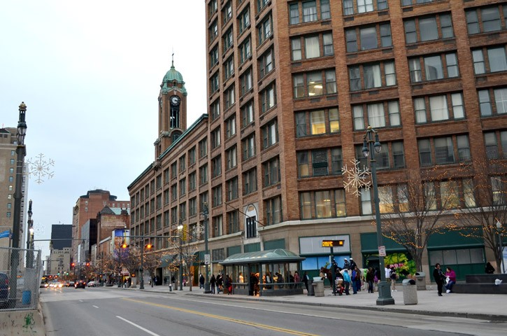 Plans are to make the Sibley building downtown an urban center. - PHOTO BY MATT DETURCK