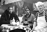 UNITED ARTISTS - Please find your celebrity conversation partner: GZA, The RZA, and Bill Murray in Coffee and Cigarettes.