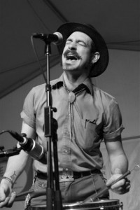 Pokey LaFarge performed Thursday, June 28, at Abilene. PHOTO BY FRANK DE BLASE
