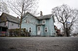 FILE PHOTO - Potential landmark? A Hamilton street home once owned by Frederick Douglass.