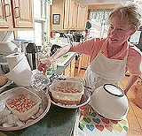 KURT BROWNELL - Preheat, bake, then disappear: Mary Lynn Vickers wants to be your personal chef.