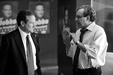 """UNIVERSAL PICTURES - Prez dispensers: Robin Williams and Lewis Black in """"Man of the Year."""""""