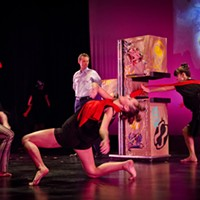 """Psychopomp & Pageantry"" at Rochester Fringe  PHOTO BY MARK CHAMBERLIN"